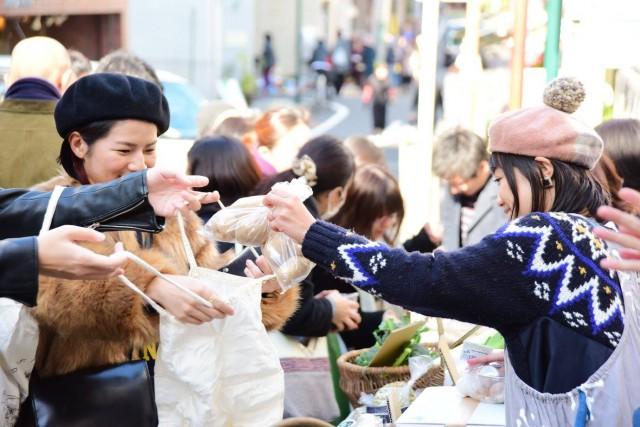 東京の商店街に十勝食材のマルシェが出現