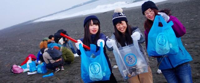 子どもが裸足で歩ける海を取り戻そう!自由大学の卒業生PJ「Beach Clean」