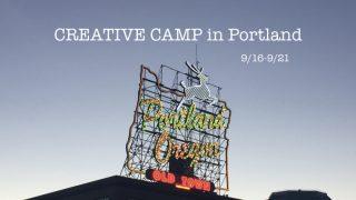 Creative camp in ポートランド 事前説明会