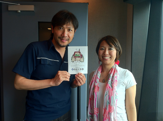 ラジオJ-WAVEに学長和泉がゲスト出演します